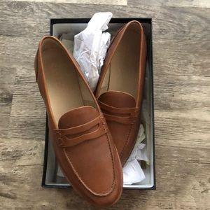 Brand New J Crew Ryan Leather Penny Loafers